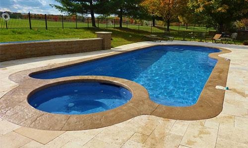 Fibergl Pool Installation Aquamarine Pools